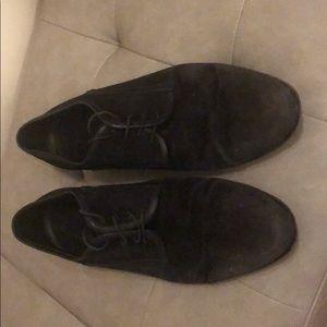 Hugo Boss Men's Suede Dress Shoes